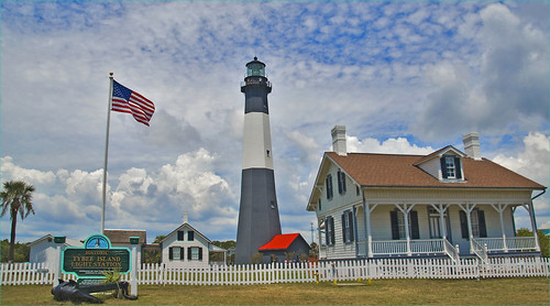 Historic Tybee Island (GA) Light Station by Ron Cogswell, on Flickr