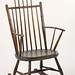 129. American Comb Back Windsor Rocking Chair