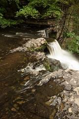 Lynn Glen falls (Ayrshire & Arran Photo (Richard Cottrell)) Tags: longexposure water river scotland glen lynn dalry ayrshire ndfilter