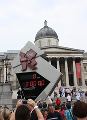 Olympic Countdown Clock: 9 Hours to Go (Sum_of_Marc) Tags: london clock square go trafalgar trafalgarsquare 9 to hours olympic olympics countdown london2012