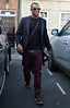 Oritse Williams of JLS leaving his hotel after attending the wedding of Rochelle Wiseman and Marvin Humes which took place on Friday (July 27) at Blenheim Palace England