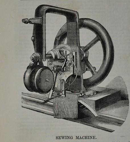 sewing machine elias howe