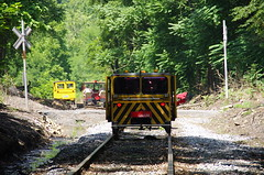 IMGP6374 (geepstir) Tags: car reading pennsylvania rail pa shamokin speeder sunbury narcoa