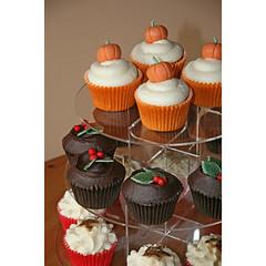 Autumn Halloween Cupcakes