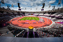 London Olympic Stadium First Day