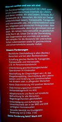 DIE LINKE Queer - unsere Foderungen (kologische Plattform NRW) Tags: transgender homo liebe gender solid homosexuell lesbisch identitt dielinke gayberlin homophobie gleichberechtigung transsexuell bisexuell sexuelle csddresden csdkln akzeptanz csdberlin csdhamburg csdmnchen homopolitik gleicherechte intersexuell sexuelleidentitt dielinkequeer csddortmund gaymnchen gayhamburg gaykln dielinkequeernrw dielinkequeerhessen dielinkequeersachsen dielinkequeerberlin dielinkequeerhamburg dielinkequeersachsenanhalt dielinkequeerschleswigholstein dielinkesozialgerecht fortschrittsparteidielinke gleichstellungderlebensweise dielinkequeerniedersachsen dielinkequeerbadenwrthemberg dielinkequeerbremen dielinkequeermecklenburgvorpommern dielinkequeerbrandenburg csdbremen gaybremen gaydresden gaydortmund