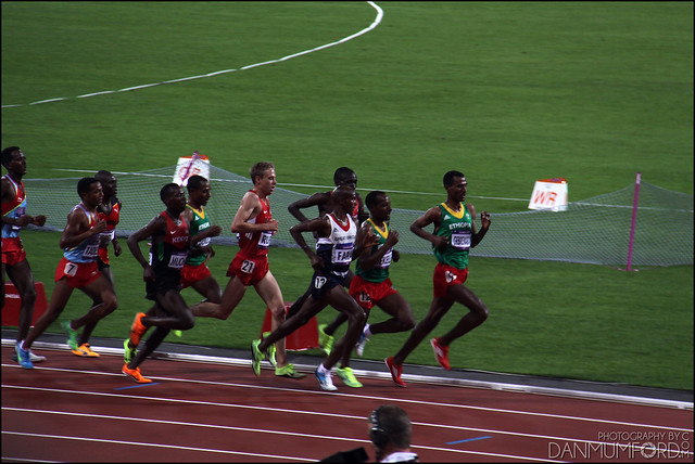 Mo Farah, Men's 10,000m Champion!