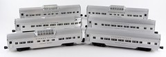 2028. Lionel Aluminum Six Train Cars