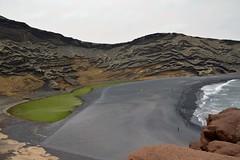 Lago verde, Charco de Los Clicos (Irene Grassi (sun sand & sea)) Tags: beach lago island lava spain playa canary spiaggia vulcano spagna isola elgolfo canarie lagoverde charcodelosclicos lanzrote