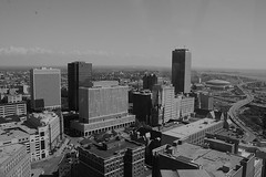 """Buffalo Downtown from City Hall Top • <a style=""""font-size:0.8em;"""" href=""""http://www.flickr.com/photos/59137086@N08/7840806706/"""" target=""""_blank"""">View on Flickr</a>"""