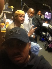 Roc, Boog , Mack and Tish in the Studio