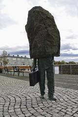 The Hardheaded Bureaucrat (Coldpix) Tags: statue reykjavk bureaucrat tjrnin magnstmasson downtownreykjavk celand vitjrnina hardheadedbureaucrat