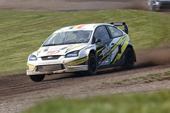 Koen Pauwels, Ford Focus / British Rallycross Championship Lydden Hill March 2014 (mattbeee) Tags: car tarmac race 22 offroad rally rallycross lyddenhill lydden britishrallycross