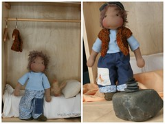 inviting play reversible pants (inviting play) Tags: inch doll waldorf inspired 13 handmadedoll clothdoll juliecolby invitingplay