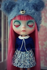 A Doll A Day. Apr 10. Dreaming.