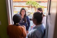 Neighborhood Help Visit (fiu) Tags: college students university florida miami visit neighborhood medical help medicine em fiu wertheim consultation