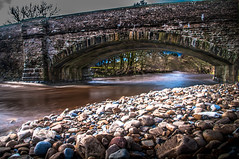 Dentdale - Downstream (Harvey Smith) Tags: bridge blue england landscape photography northwest pentax smith dent cumbria harvey northern 2016 northernengland dentdale countrysidewalks harveysmithphotography2016