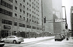 9th and Marquette (Passej) Tags: winter minnesota minneapolis winterstorm downtownminneapolis