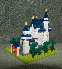 Neuschwanstein (tubblesnap) Tags: castle germany bavaria pieces lego mini micro neuschwanstein schloss nanoblock