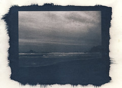 Rialto Beach (that analogue guy) Tags: coffee washington greentea toned olympicnationalpark cyanotype rialtobeach alternativeprocess