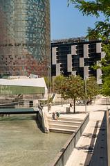 Buildings Bcn-5 (dACE :)) Tags: barcelona espaa architecture buildings arquitectura edificios edificio catalunya es carrers agbar skycraper rascacielos gratacels edificis