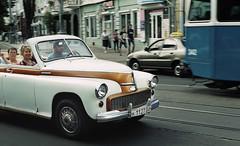 - (Roman Lysenko) Tags: street film car pentax takumar kodak 14 ukraine retro soviet spotmatic 50 gold200 vinnitsa