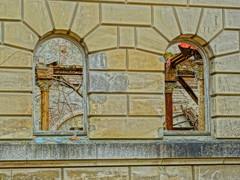 Sulen im Marstall Dwasieden (Manuela Vierke) Tags: germany deutschland town insel ruine stadt architektur rgen isle mrz hdr mecklenburgvorpommern 2016 sule sassnitz marstall lostplace meckpomm sasnitz dwasieden