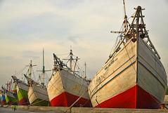 Port of Sunda Kelapa (lightmeister) Tags: travel port indonesia jakarta southeast kelapa sunda asis