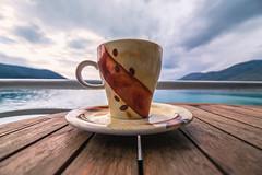 Coffee time (Vagelis Pikoulas) Tags: sea coffee canon landscape march spring europe tokina greece porto 6d 2016 germeno 1628mm