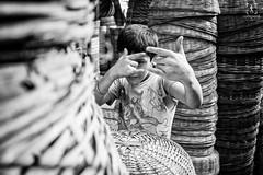 Childhood (Yoh_click_O_maniac) Tags: life street people urban blackandwhite india black love monochrome canon photography photo photos streetphotography dailylife stories kolkata