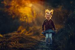 Let's jump (Damian Pirko) Tags: portrait color children mood child cinematic