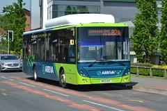 Arriva MAN 5007 MX13AAY - Widnes (dwb transport photos) Tags: man bus widnes arriva ecocity 5007 mx13aay