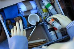 Painter18 (Ermilena Puppeteer) Tags: infant handmade bjd abjd leekeworld leekeworldadolf handmadeforbjd