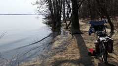 Mon Vlo Au Bord De La Plage Nudiste Inonde. 2016-05-12 13:50.51 (Sandbanks Pro) Tags: park gay lake holiday canada man tree male beach nature bike naked nude nationalpark quebec nu lac homosexual paysage bicyclette arbre plage parc vlo vacance oka homme gai touristique nakedman naturiste nudit parcnationaldoka homosexuel parcnational nudis nudiste lacdesdeuxmontagnes
