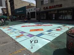 Street Mural, Newark Avenue, Jersey City, New Jersey (lensepix) Tags: newjersey mural jerseycity streetmural newarkavenue jerseycityart jerseycitymural