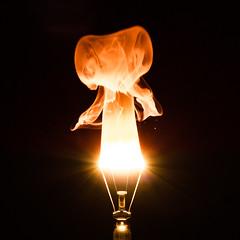 25/52 Death of a bulb, birth of a ghost (eric_marchand_35) Tags: light bulb ghost burn fantome ectoplasm 150w ectoplasme 52weeksthe2016edition week252016 weekstartingfridayjune172016