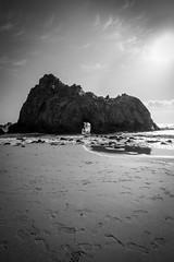 Pfeiffer Beach, Big Sur, California (dommmmh89) Tags: ocean california park white black landscape state bigsur national pfeifferbeach moneterey
