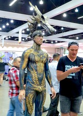 IMG_3950 (danimaniacs) Tags: shirtless costume makeup bodypaint bulge dragcon