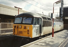BR Class 56 56037 - Warrington Bank Quay (dwb transport photos) Tags: grid warrington bank quay locomotive britishrailways 56037 richardtrevithickwarrington