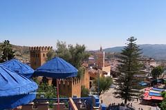 Xauen.LA PLAZA UTA EL-HAMMAM . (lameato feliz) Tags: torre medina marruecos chefchaoue