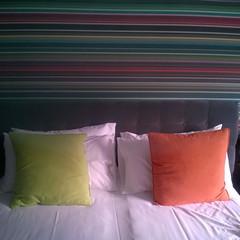 Hotel room... (dorsettaoist) Tags: hotel room raybans stripy
