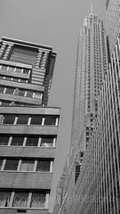 60 Wall Street and 70 Pine Street, Lower Manhattan, New York City (jag9889) Tags: 2016 20160619 bw building landmark lowermanhattan manhattan newyork newyorkcity outdoor skyscraper usa wallstreet jag9889