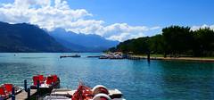 lac d'annecy (eikzilla) Tags: lake france alps annecy