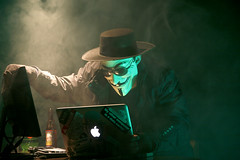 Anonymous Hacker by dustball, on Flickr