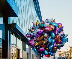 Ballons (McMac70) Tags: film frankfurt yashicaelectro35gt dmparadies400 plustekopticfilm7400