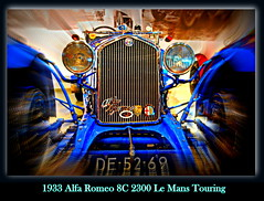 1933 Alfa Romeo 8C 2300 Le Mans Touring (PictureJohn64) Tags: auto heritage classic car museum automobile driving traffic famous den transport hague collection mans le commercial transportation alfa romeo historical haag touring collectie fahrzeug 1933 oto historisch verkeer 8c vervoer klassiek  samochd beroemd 2300 gravenhage otomobil louwman automobiel worldcars  automoviel klassiesch