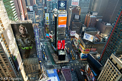 Times Square - From the Top (KP Tripathi (kps-photo.com)) Tags: newyorkcity newyork manhattan timessquare     newyorkcityandmanhattan   thnhphnewyork