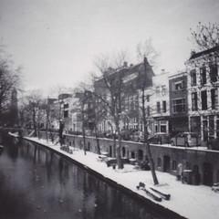 Winter 2012 (zgstevens) Tags: winter lomo utrecht domtoren oudegracht
