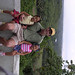 Jeffrey Boyd with two young girls in the DR