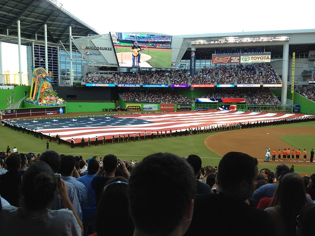 Opening Night - Marlins Park (3)